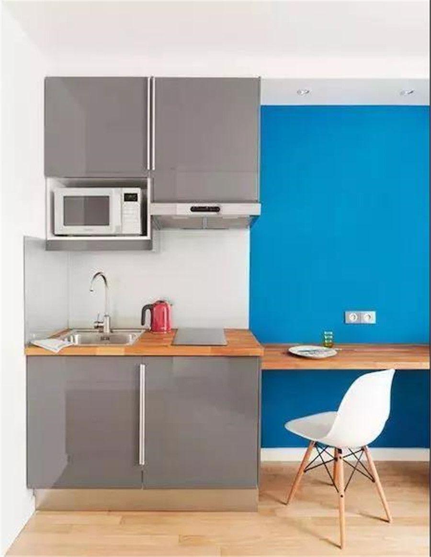 15㎡迷你單身公寓,客廳和臥室結合,打造一個人的舒適小窩!