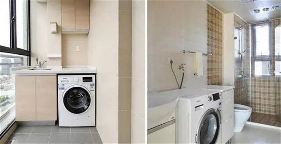 《南充華祥裝飾》洗衣機是放在衛生間好還是陽臺好?