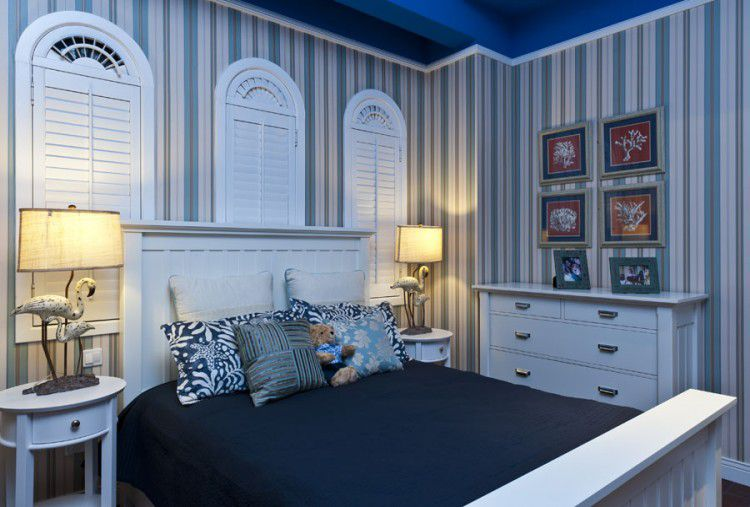 南充裝修設計師地中海藍讓你在家也能感受大海般的藍色情懷!