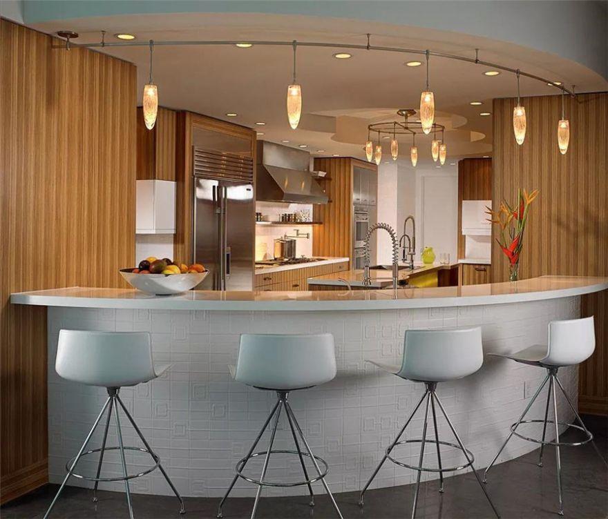 30個廚房吧臺設計方案