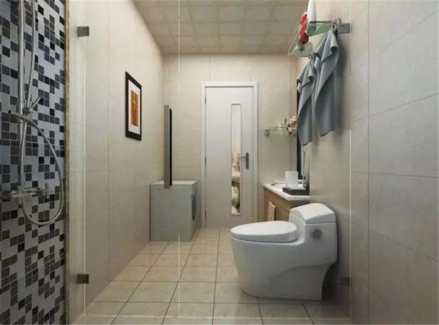 衛生間沒有窗戶怎么裝修?師傅想了一些好辦法