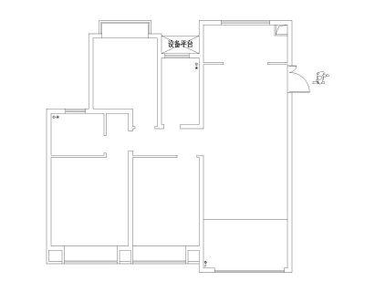 ballbet贝博app西甲ballbet贝博下载方案户型:中南世纪花城三期35#楼B23户型126平