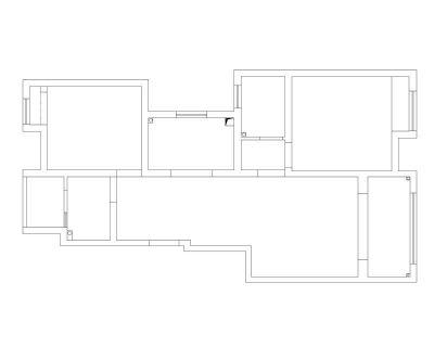 南通裝修方案戶型:一期6#7#號樓洋房A2戶型89平