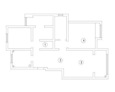 南通裝修方案戶型:6#7#號樓洋房A1戶型95平