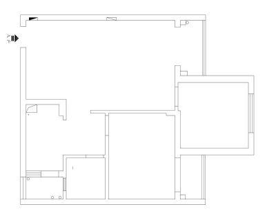 南通装修方案户型:1#、2#、3#楼B户型92平
