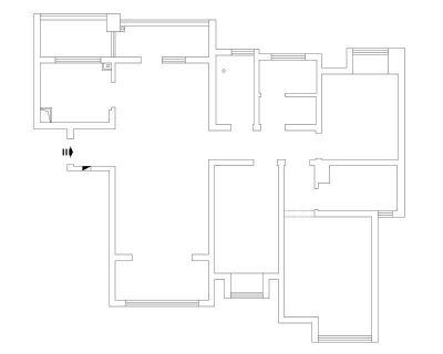 南通装修方案户型:20号楼B1户型141平