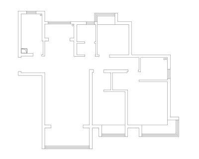 南通装修方案户型:1#6#7#8#楼C3户型121平