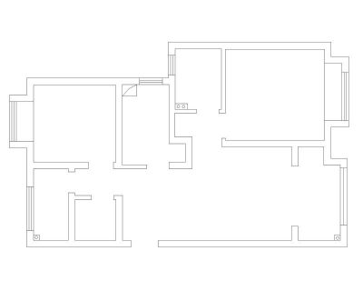 南通裝修方案戶型:1#2#3#樓G戶型89平
