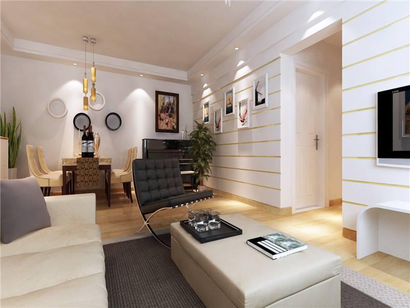100平米兩室一廳裝修案例