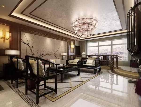 中式裝修客廳窗簾有何特點