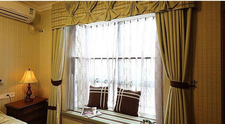 飄窗窗簾該怎么裝,靠墻還是靠窗好?