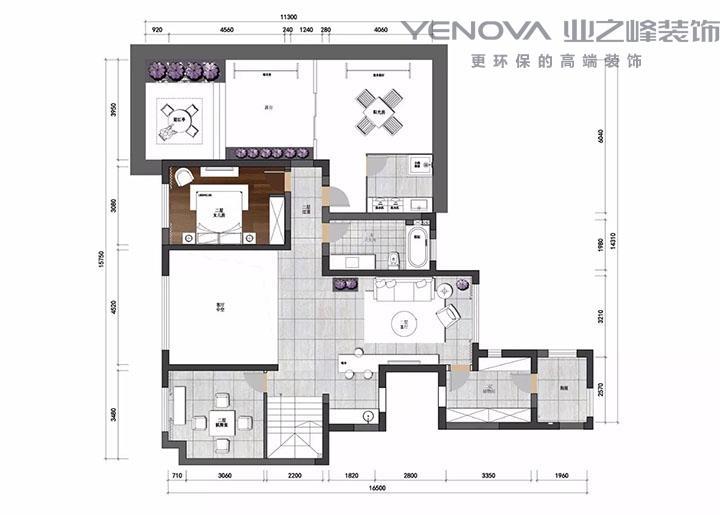南通11选5技巧案例合肥样板房 现代简约风 - 设计师从浩然