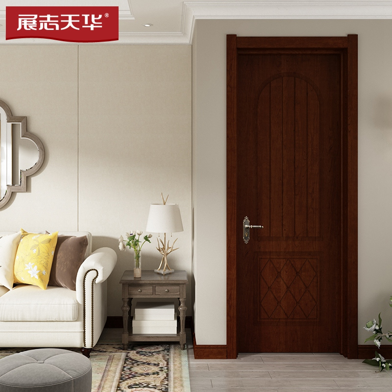 展志天華木門|靜音谷倉室內門|凈化門 1058P