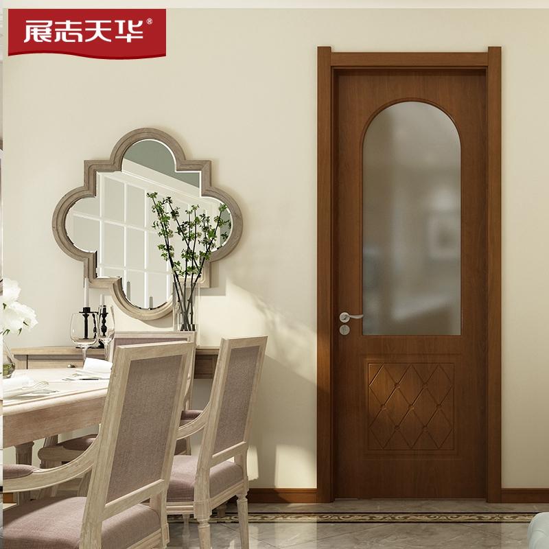 展志天華木門|室內門|衛生間廚房門|實木復合門WL-1059B
