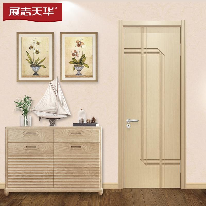 展志天華木門|實木復合門|室內門1093P