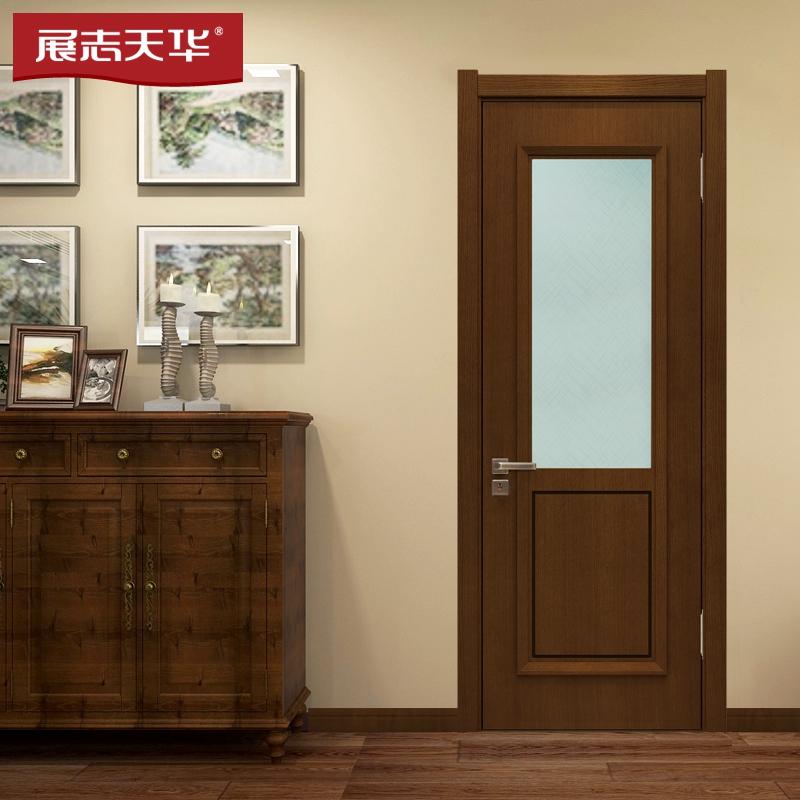 德州展志天華木門|油漆門|玻璃衛生間門Y068BS
