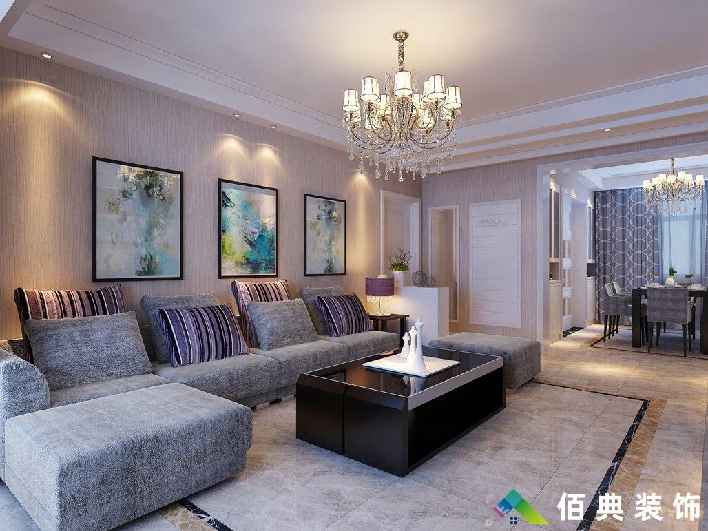 西城名邸-140m2- 简欧风格