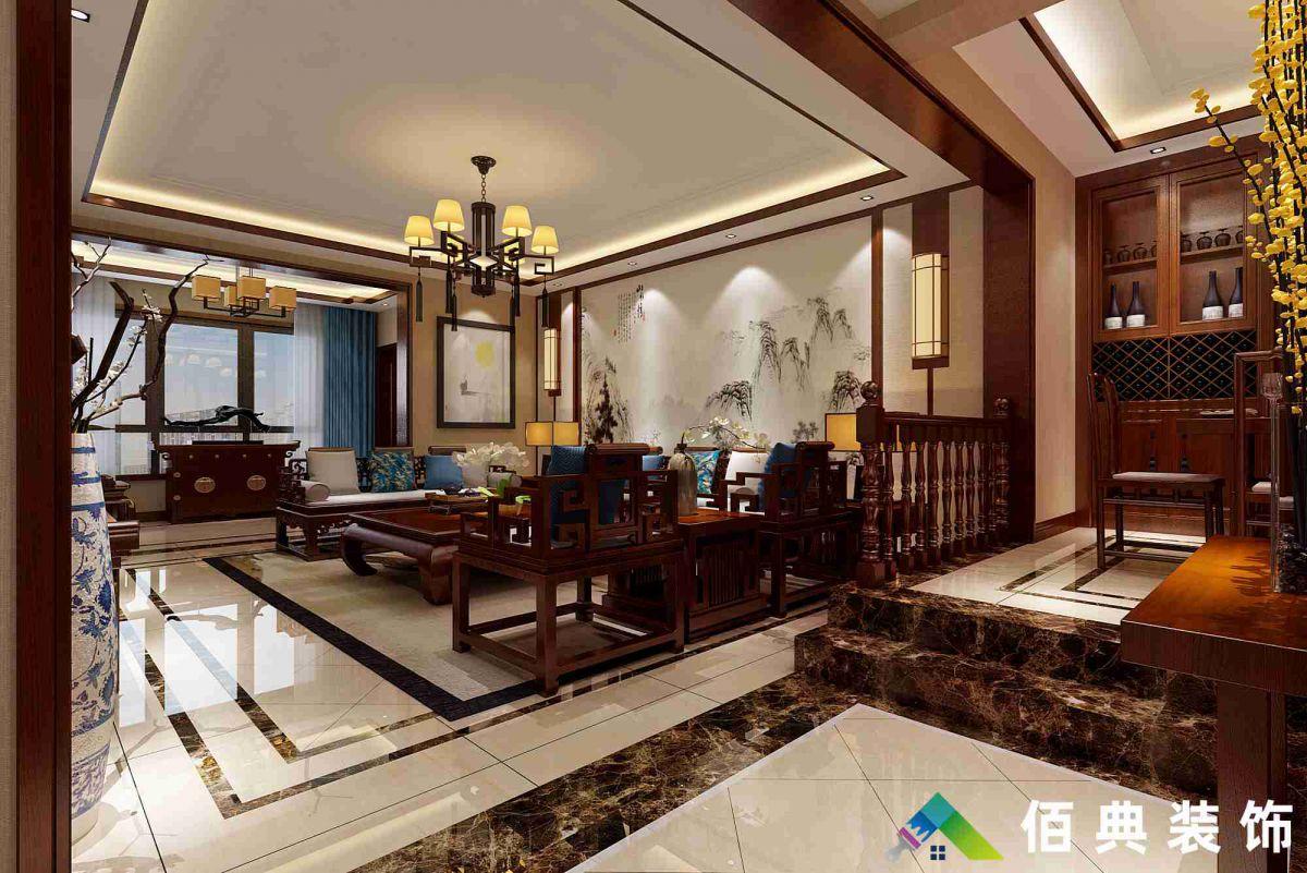 翠庸新城-156m2-新中式风格