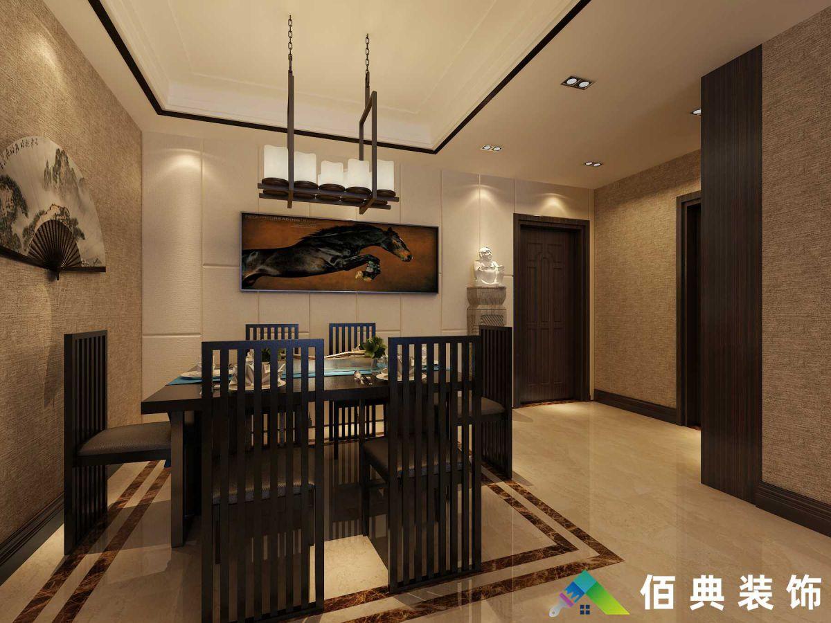五矿-122m²-新中式风格