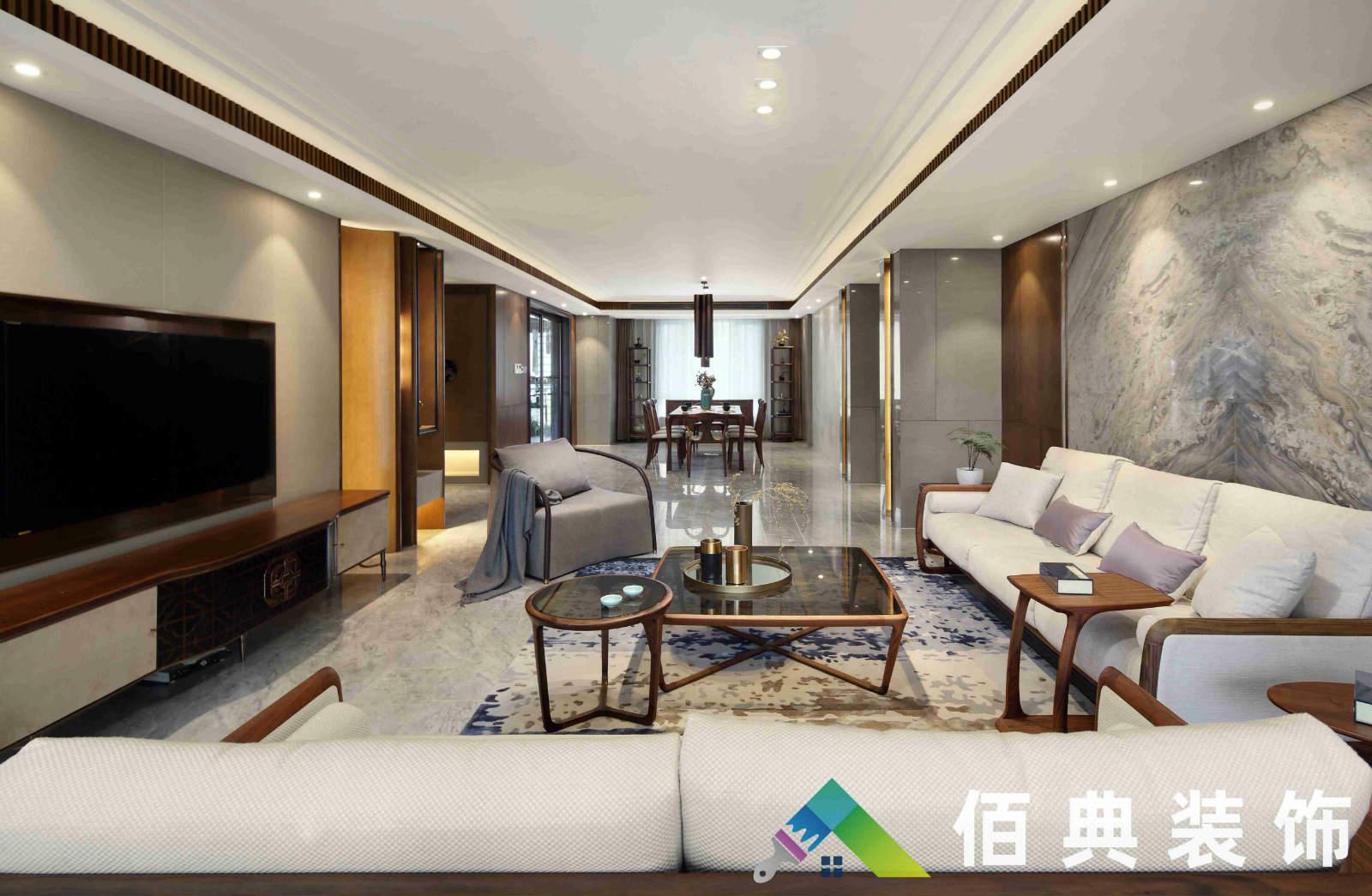 新华联-300m²-新中式风格