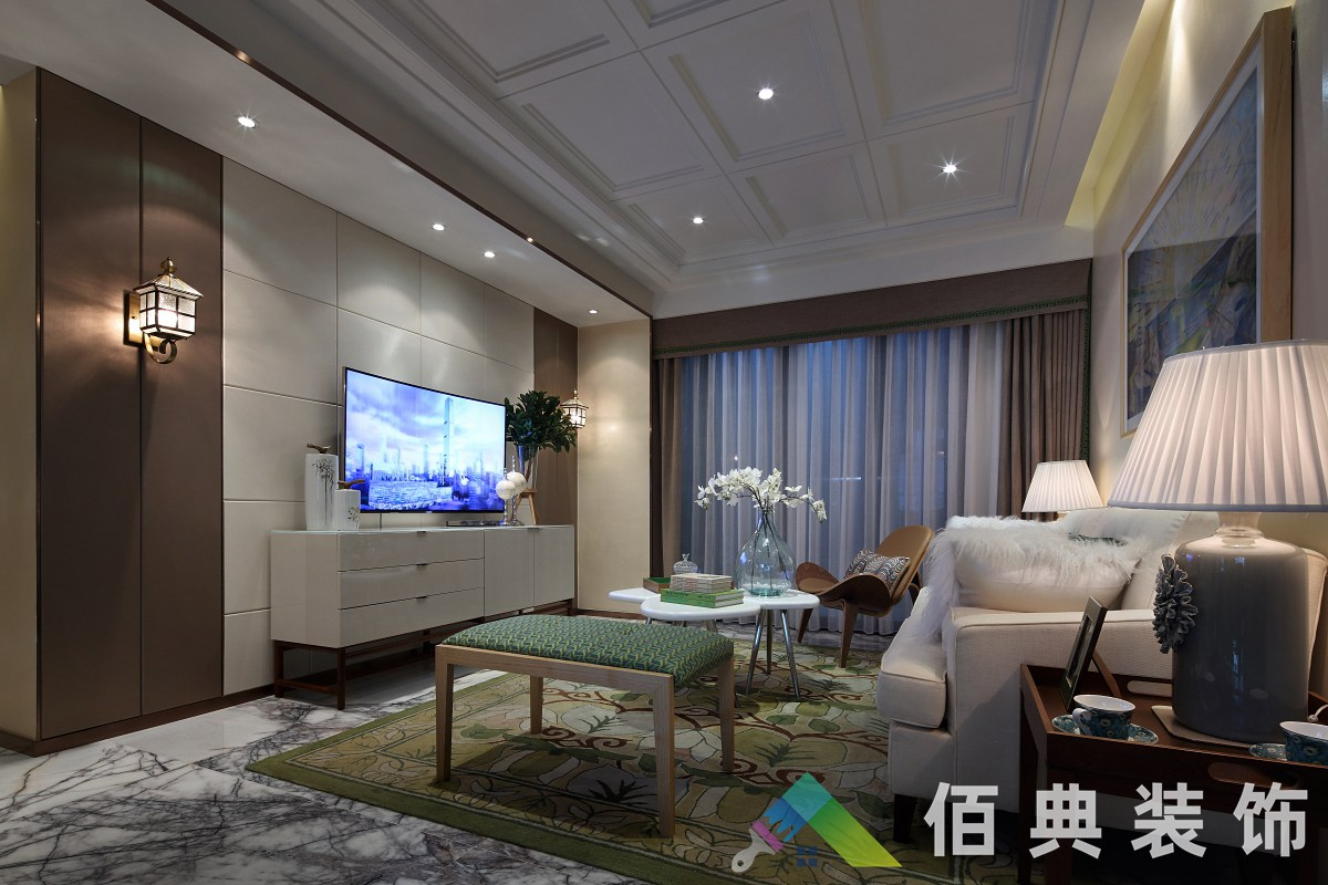 儒之源-130m²-现代简约风格