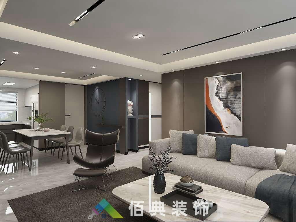 中海河山郡-142m²-现代风格