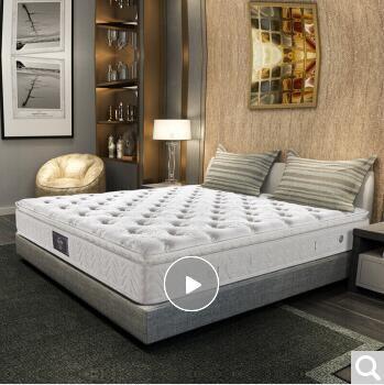 西宁慕思(de RUCCI) 乳胶弹簧床垫 独立筒双人卧室家具床垫 床垫 爱永恒 1800*2000