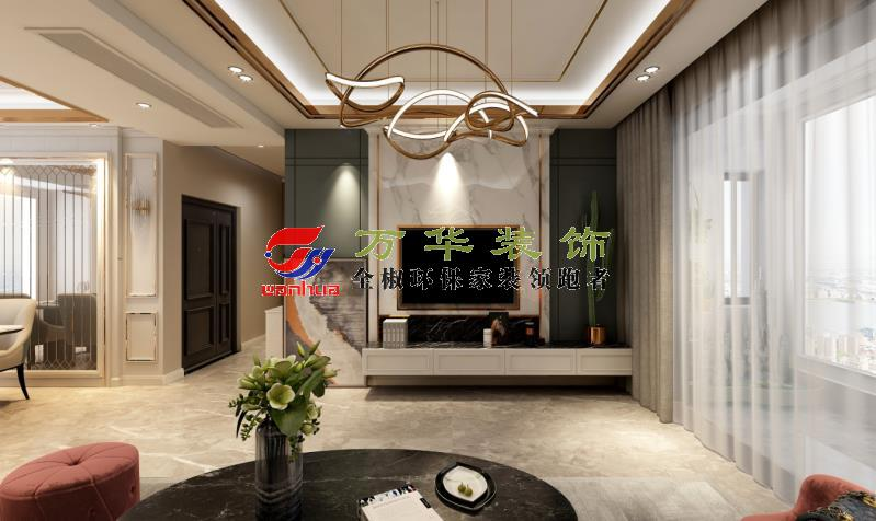 2020紫龙府118㎡现代轻奢风格案例