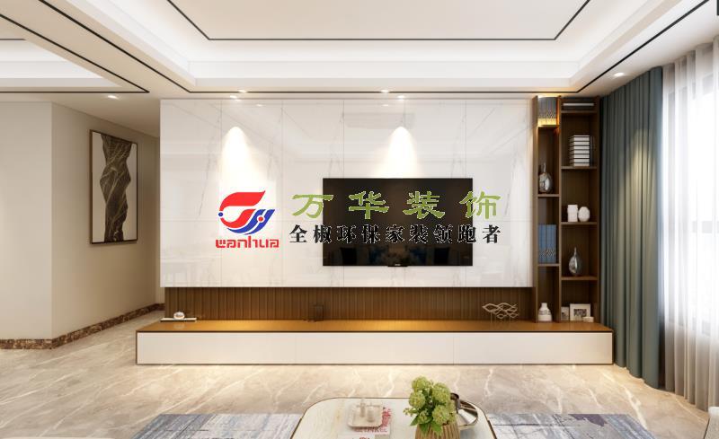 滁州装修案例江海尚苑108㎡现代轻奢风格案例