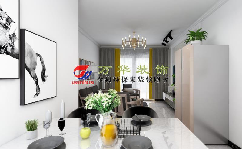 滁州裝修案例2021年香墅茗居118㎡現代輕奢風格案例