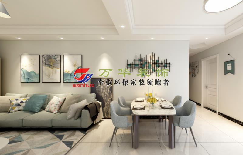 滁州装修案例2020年国建理想城2栋现代轻奢风格装修案例效果图