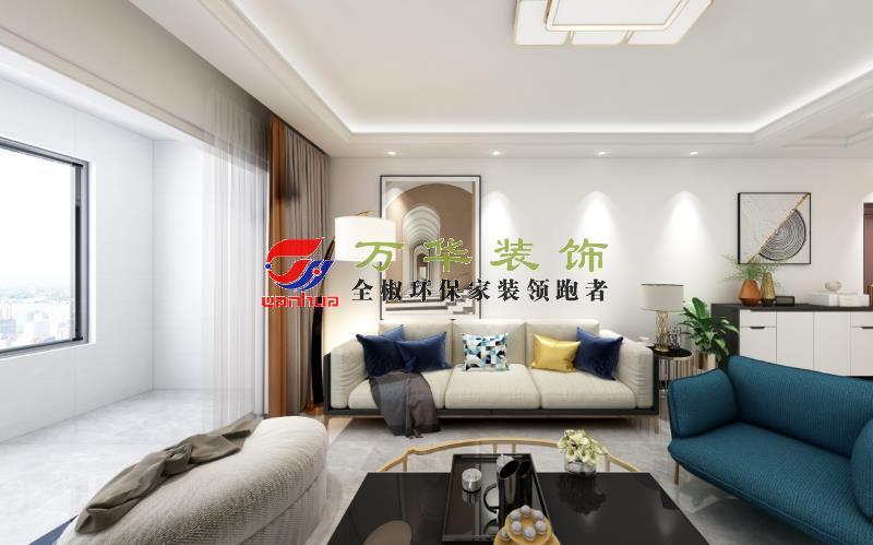 滁州装修案例2021年尚泽壹号院20栋现代轻奢风格案例装修效果图