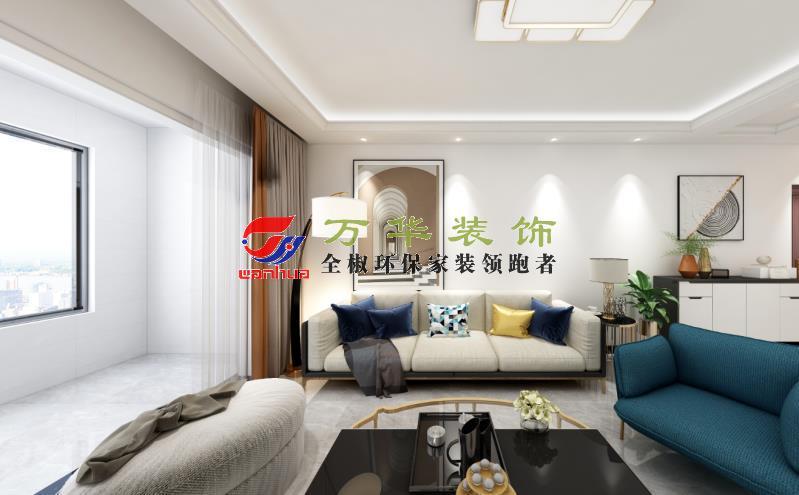 滁州装修案例2020尚泽壹号院20栋现代轻奢风格案例装修效果图
