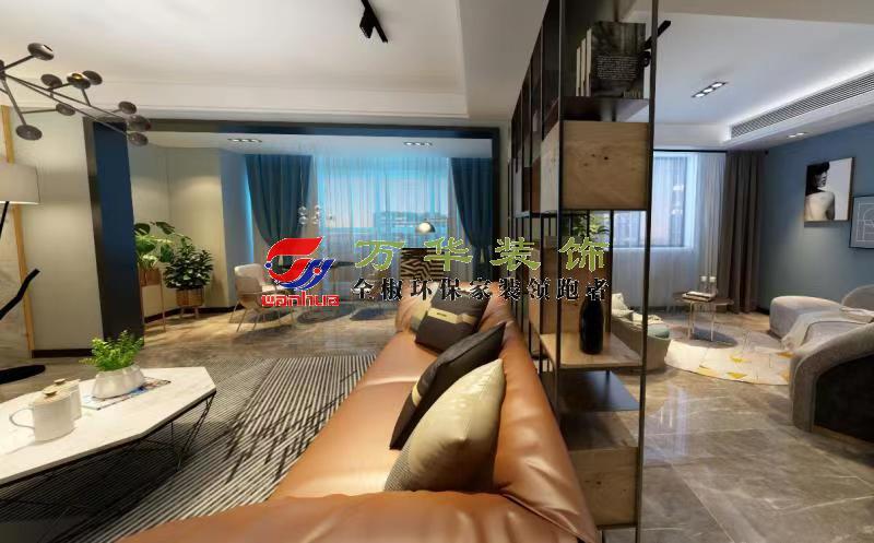 滁州裝修案例2021年北京公館復式現代輕奢風格案例
