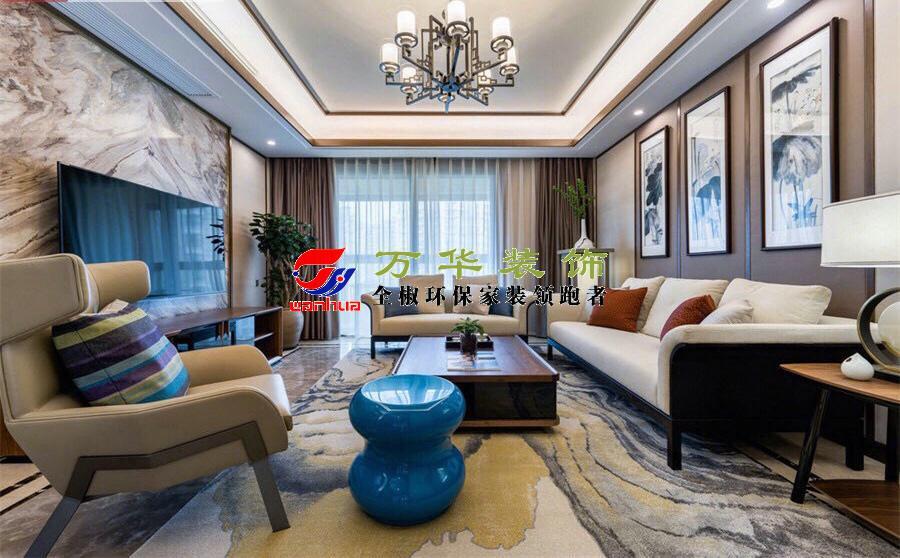 滁州裝修案例2021年滁州碧桂園新中式輕奢風格案例