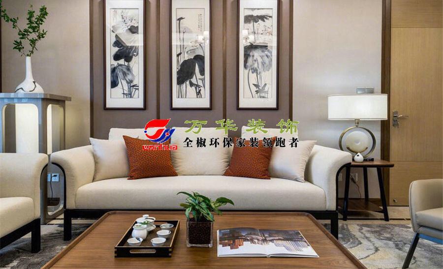 2021年滁州碧桂園新中式輕奢風格案例