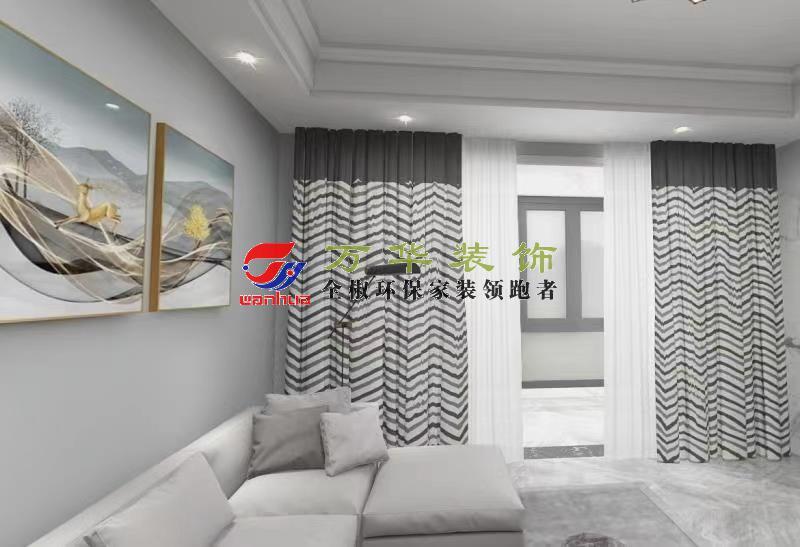 滁州裝修案例2021年襄水苑現代輕奢風格案例