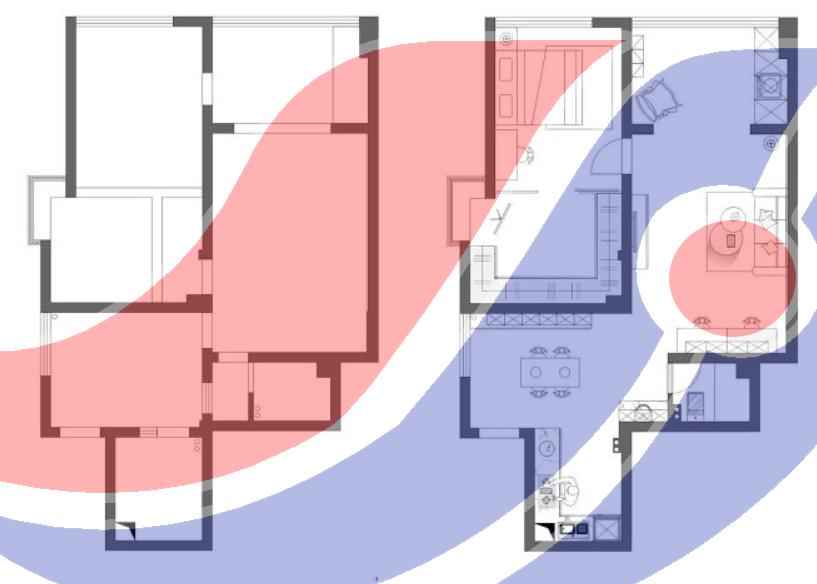2021年滁州紫龍府北歐極簡風設計案例