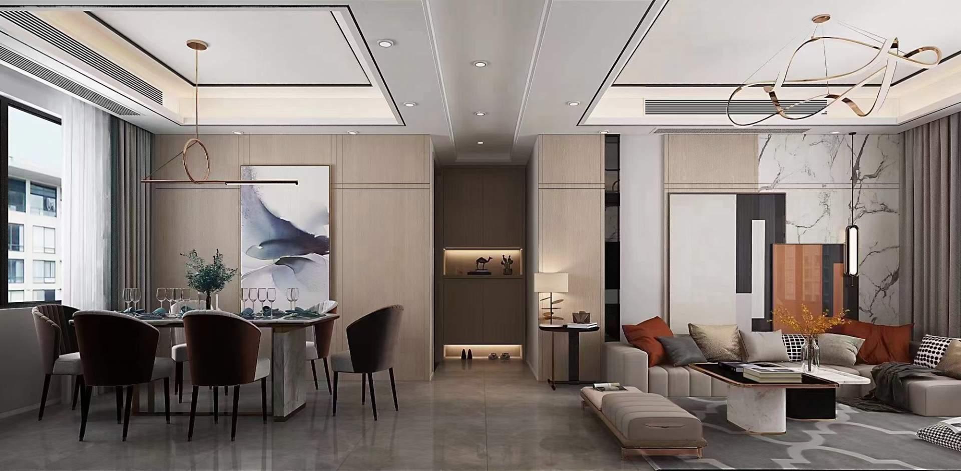 2021年理想湾现代轻奢风设计案例