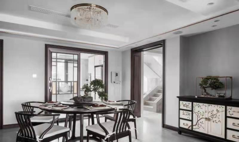 2021年280平现代复式新中式大宅设计
