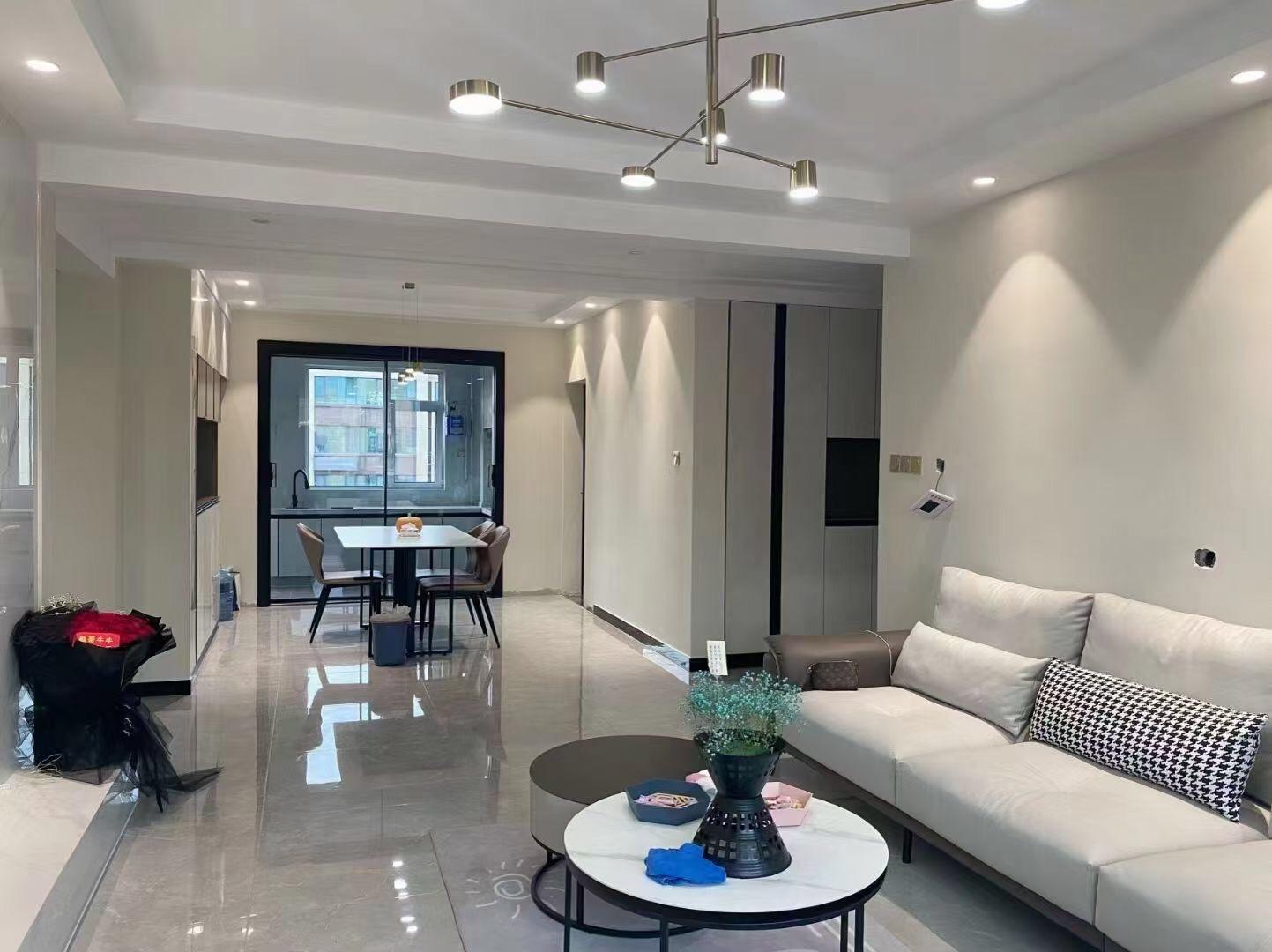 2021滁州琅琊区120平现代简约风格实景案例