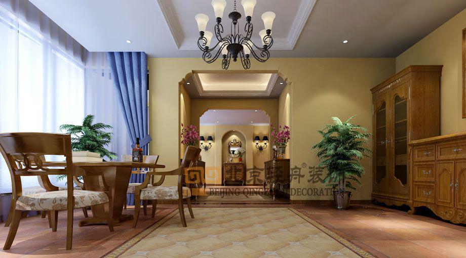 中铁逸都国际别墅美式风格