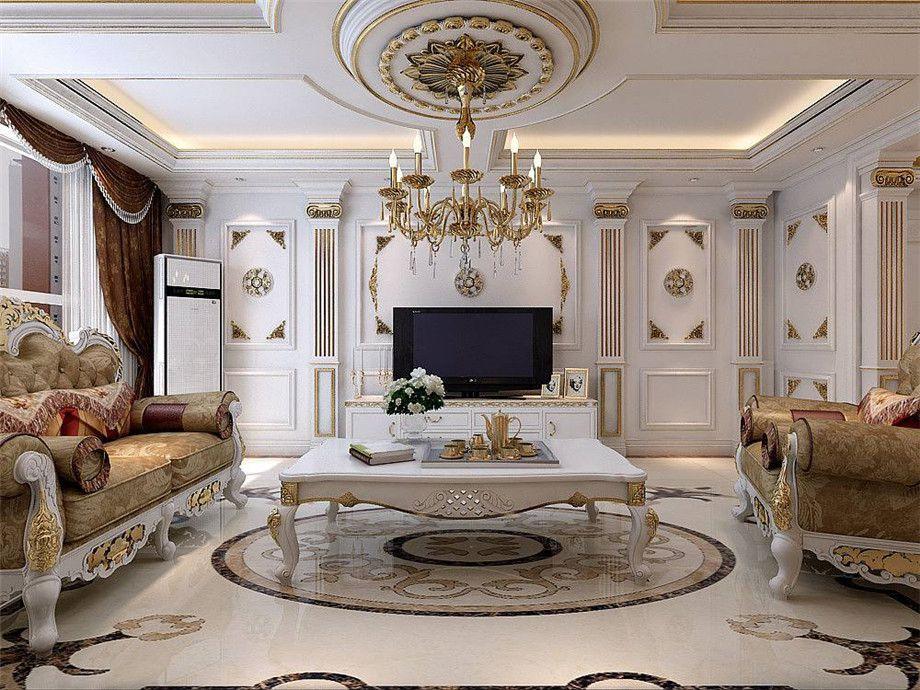 任丘幸福之家裝飾告訴你簡歐風格客廳如何裝修?