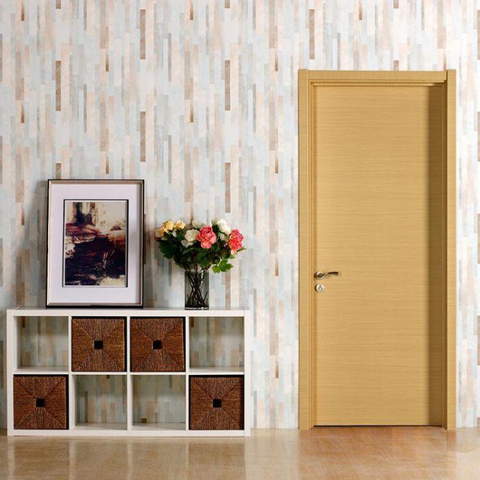 派的門實木復合門PAD001橫紋米橡