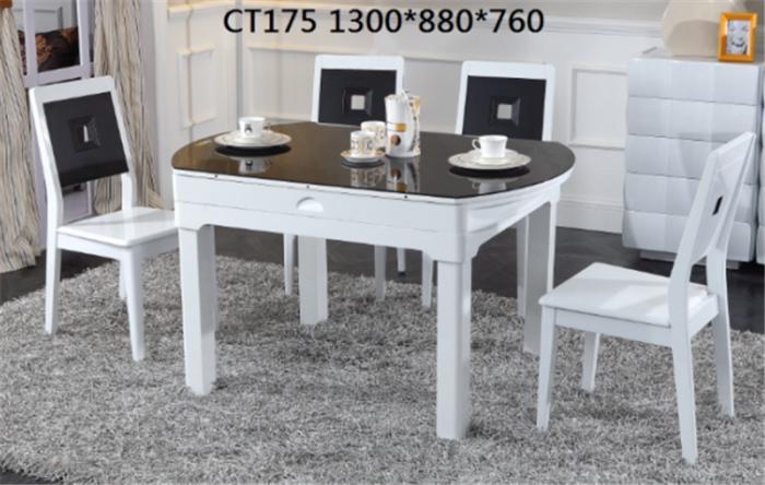 帝標家居 CT175餐桌、CY175餐椅
