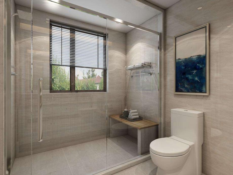 上海爱级装饰分享别墅设计时如何把洗手间装出高级感