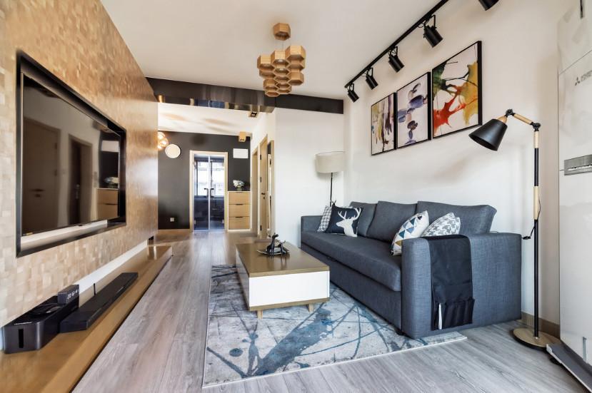 恒大地市果岭  120m²  两室一厅   亚博体育app苹果版  北欧风格