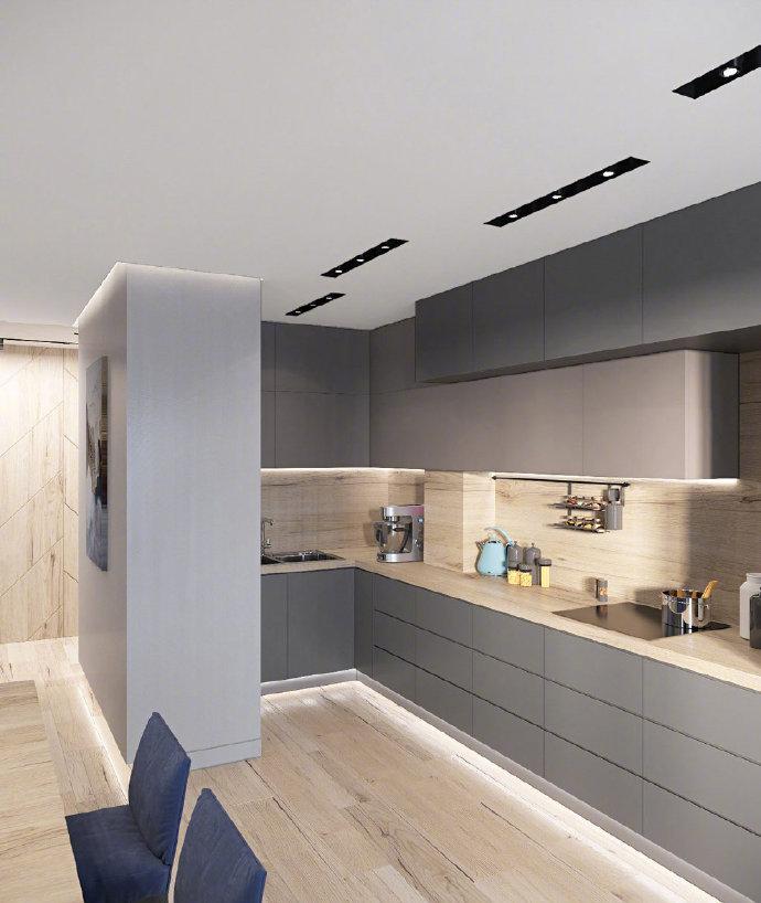 120平米高雅時尚的現代住宅