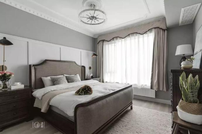 137㎡四居室,古典又优雅。 