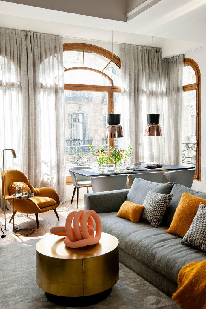 巴塞羅那風格,現代公寓 ???? ????
